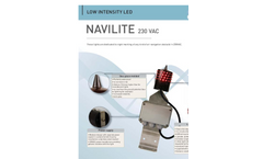 Navilite - Model 12V - Led Low Intensity Light Brochure