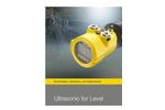 VEGASON - Model 61 - Ultrasonic Level Sensors Brochure
