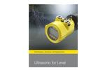 Ultrasonic VEGASON 62- Brochure