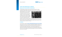Coker Valve Monitoring in a Refinery - Application Note