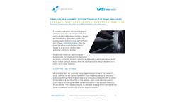 Vibration Measurement System Essential for Many Industries - Application Note