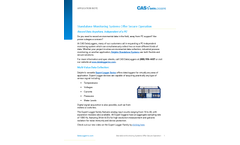Standalone Monitoring Systems Offer Secure Operation - Application Note