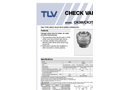 TLV - Model CK3M/CK3T/CK3R - Check Valves Brochure