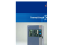 Model TSB-51 - Thermal Shock Chambers Brochure
