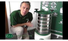 Sieve Shaker Endecotts EFL300 - Video