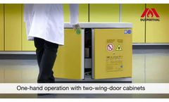 UTS Ergo Line - Safety Cabinets for the Highest Standards - Video