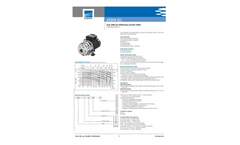 Surface - Model 2CDX-2CDXL - Dual Impeller Centrifugal Electric PumpsBrochure