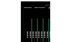 Waste Air Purification Unit - Brochure