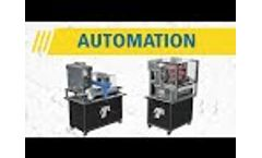 Antunes Automated Bun Feeding and Sauce Dispensing - Video