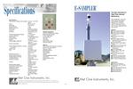 E-Sampler - Laser Backscatter Particulate Monitor Brochure