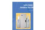 URG - 9000 Series - Ambient Ion Monitor Datasheet