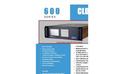 Enviro - 600 Series - Chemiluminescent NO/NOx Digital Analyzer Datasheet
