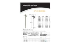 Model SP-CPVC - Pump Tubes Brochure