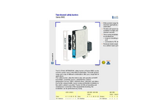 Two-channel Safety Barriers - Brochure