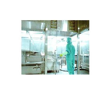 Laminar Air Flow Maintains Booth
