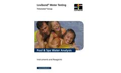 Pool Catalogue