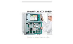 ADI - 2045PL - Robust At Line Analyzer- Brochure