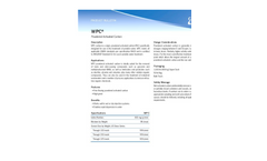 WPC - Powdered Activated Carbon - Brochure
