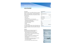 Ventsorb - 55-gallon - Canisters Contain - Brochure