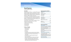 Calgon Carbon - - Dual Express - Carbon Adsorption System - Brochure