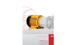 Model MPN series - Normal Priming Centrifugal Pump Brochure