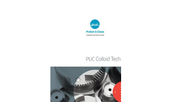PUC - Model Type E - Vibroreactor  Brochure