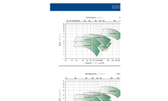 Model MU-LDS - Vertical in Line Double Suction Centrifugal Pumps Technical Data- Brochure