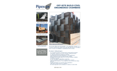 Pipex px - Civil Engineered Thermoplastic Chambers Brochure