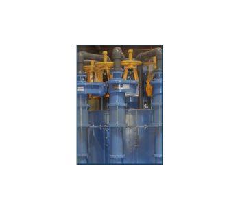 Hydrocyclones for flue gas desulfurization FGD power applications - Environmental