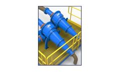 Hydrocyclones for quench water treatment