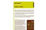 Septic Tanks Datasheet