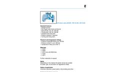 Model 240 MT DN 10-50 - Lift Check Valve Brochure