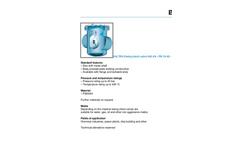 Model 640 AA- PN 10-40 - DN 300-800 - Swing Check Valve Brochure