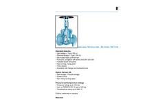 Model 700 HJ/JJ (GA) DN 50-150 - Gate Valve Brochure