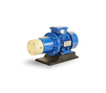 Model HPP/HPF - Thermoplastic Mag-Drive Rotary Vane Pumps