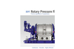 Rotary Pressure Filter