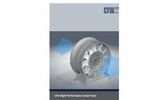 LTG - High-Efficiency Axial Fans Datasheet