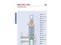 Model 431 / 433 - Flanged Safety Valves Brochure