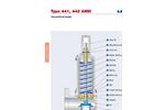 Model Type 441, 442 ANSI - High Performance Safety Valves- Brochure