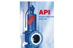 Model API Type 526 - Safety Valves Brochure