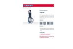 447 PTFE-Lined Safety Valves Datasheet