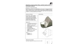 VORTEX - Model CY - Flow Control- Brochure