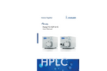 Knauer - Low Pressure Gradient UHPLC 1000 Bar System with 3D Diode Array Detector 190-1000 NM -Brochure