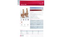 Goetze - Model Series 852 - Safety Valves - Datasheet