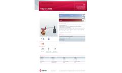 Goetze - Model Series 601 - Pressure Relief Valves - Datasheet