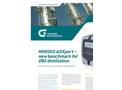 MINIDIS ADXpert Automatic Mini-Distillation Brochure