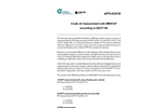 Crude Oil Measurement with MINIVAP According to D6377-08 - Application Note