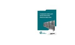 Standard Compliant Vapor Pressure Process Analyze Brochure