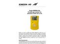 Kimessa - Model SKC - Portable Gas Monitor Single Clip - Datasheet