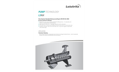 Leistritz - Model L3NB - Screw Pumps  Brochure